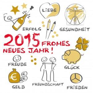 2015 Frohes neues Jahr